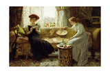 Fortune Telling, 1895 Giclee Print by Francis Sydney Muschamp