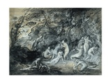 Study for Diana and Actaeon, C.1784 Giclee Print by Thomas Gainsborough