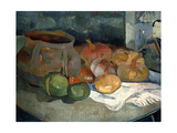 Still-Life with Gourds, 1889 Stampa giclée di Paul Gauguin