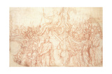 The Triumph of Emperor Constantine Giclee Print by Charles Le Brun