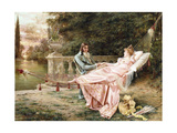 Betrothed Giclee Print by Joseph Frederick Charles Soulacroix