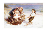 The Joy Ride Giclee Print by Frederick Morgan
