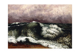 The Wave, 1869 Giclee Print by Gustave Courbet