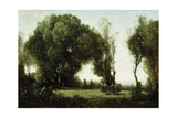 Danse Des Nymphes Giclee Print by Jean-Baptiste-Camille Corot