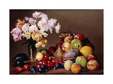 Still Life with Fruit and Flowers, 1908 Giclee Print by Conrad Wise Chapman