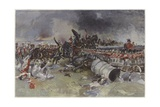 Battle of Waterloo Giclee Print by Francois Flameng
