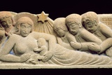 Nativity and the Adoration of the Magi, 1922 Photographic Print by Eric Gill