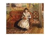 Jeanne Reading, 1899 Reproduction procédé giclée par Camille Pissarro