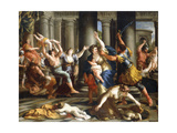 The Massacre of the Innocents, C.1631 Giclee Print by Giovanni Francesco Romanelli