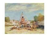 The Woodcutters, 1876 Giclee Print by Alfred Sisley