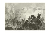 Massacre of the Memlooks, Egypt, 1811 Giclee Print by Alonzo Chappel