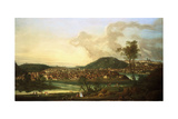 View of Prague from the East Giclee Print by Johann Friedrich Meyer