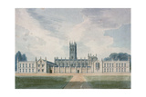 Magdalen College, Oxford, 1804 Giclee Print by John Buckler