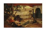 Evening over Algiers, C.1880-1889 Giclee Print by Frederick Arthur Bridgman