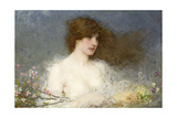 A Spring Idyll, 1901 Giclee Print by George Henry Boughton