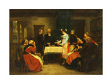 An Alsatian Wedding, 1869 Giclee Print by Gustave Brion
