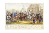 The Challenge, 1843 Giclee Print by James Henry Nixon