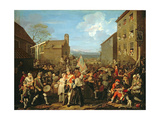 March of the Guards to Finchley, 1750 Giclee Print by William Hogarth