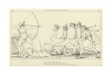 Ulysses Killing the Suitors Giclee Print by John Flaxman