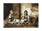 Happy Moments Giclee Print by Alexei Alexevich Harlamoff
