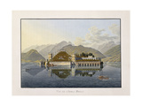 View of Isola Bella, 1811-1819 Giclee Print by Mathias Gabriel Lory