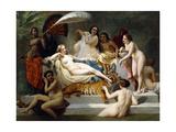 Odalisque, 1858 Giclee Print by Henri Pierre Picou