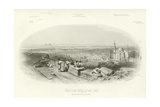 Cairo and the Valley of the Nile Giclee Print by Edward Paxman Brandard