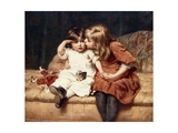 Never Mind!, 1884 Giclee Print by Frederick Morgan