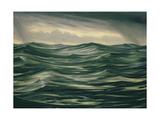 The Sea Giclee Print by Christopher Richard Wynne Nevinson