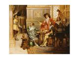 The Arrival of D'Artagnon Giclee Print by Alex De Andreis