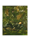 The Knights and the Briar Rose, 1869 Giclee Print by Sir Edward Coley Burne-Jones