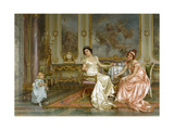 The Birthday Giclee Print by Vittorio Reggianini