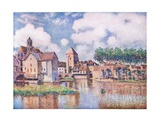 Le Pont De Moret Giclee Print by Alfred Sisley