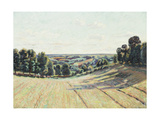Hilly Landscape in La Creuse, C.1900 Giclee Print by Jean Baptiste Armand Guillaumin