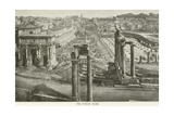 The Forum, Rome Giclee Print