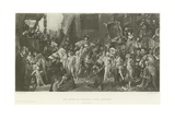 The Entry of Charles V into Antwerp Giclee Print