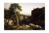 Franconia Mountains, 1854 Giclee Print by John Frederick Kensett
