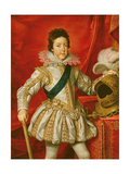 Louis XIII Giclee Print by Frans II Pourbus