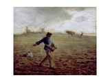 The Sower, C.1865 Giclee Print by Jean-François Millet