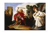 Balaam and the Ass, 1622 Giclee Print by Pieter Lastman