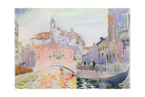 Canal in Venice Giclee Print by Henri Edmond Cross