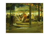 Carousel, C.1900-1901 Giclee Print by Richard Edward Miller