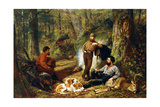 Halt on the Portage, 1871 Giclee Print by Arthur Fitzwilliam Tait