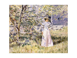 A Normandy Garden, October Giclee Print by Theodore Robinson