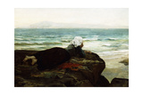 Looking Out to Sea Giclee Print by Jules Breton