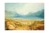 Vevey, Lake Geneva Giclee Print by J. M. W. Turner