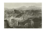 Ruins of Ancient Rome Giclee Print