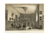 Hall, Wroxton Abbey, Oxfordshire Giclee Print by Joseph Nash