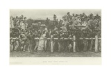 Here They Come: Derby Day Giclee Print by Charles Green