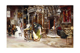 The Confession, 1893 Giclee Print by Jose Gallegos Arnosa
